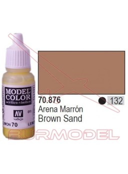 Pintura Arena marrón 876 Model Color (132)