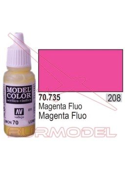 Pintura Magenta fluoresc. 735 Model Color (208)
