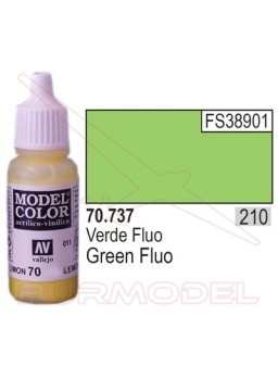 Pintura Verde fluorescente 737 Model Color (210)