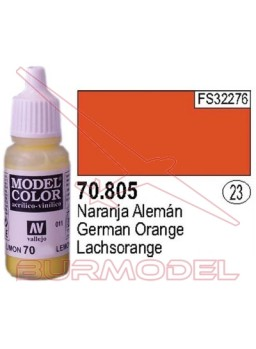 Pintura Naranja alemán 805 Model Color (023)