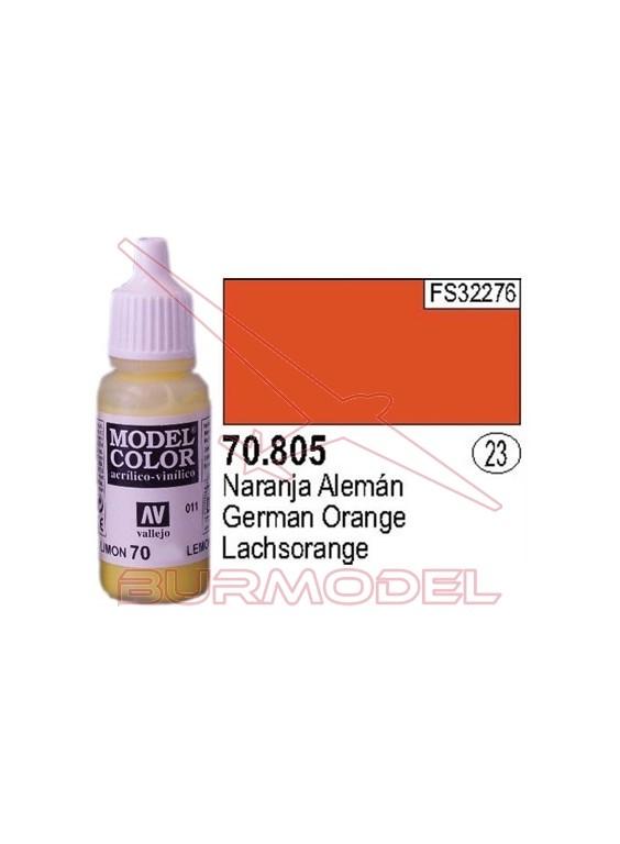 Pintura Naranja alemán 805 Model Color (023)