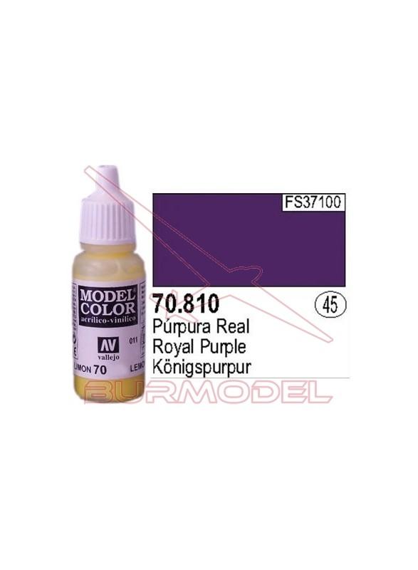 Pintura Púrpura real 810 Model Color (045)