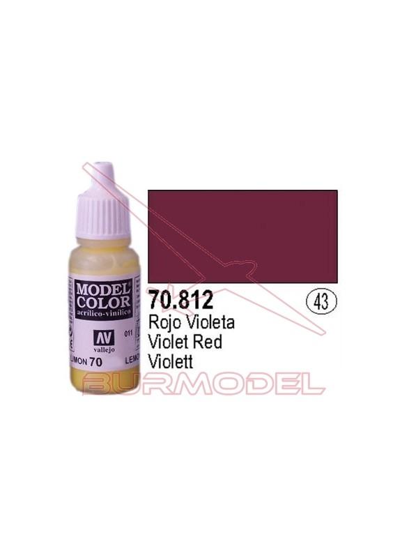 Pintura Rojo violeta 812 Model Color (043)