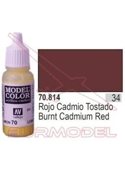 Pintura Rojo cad. tostado 814 Model Color (034)