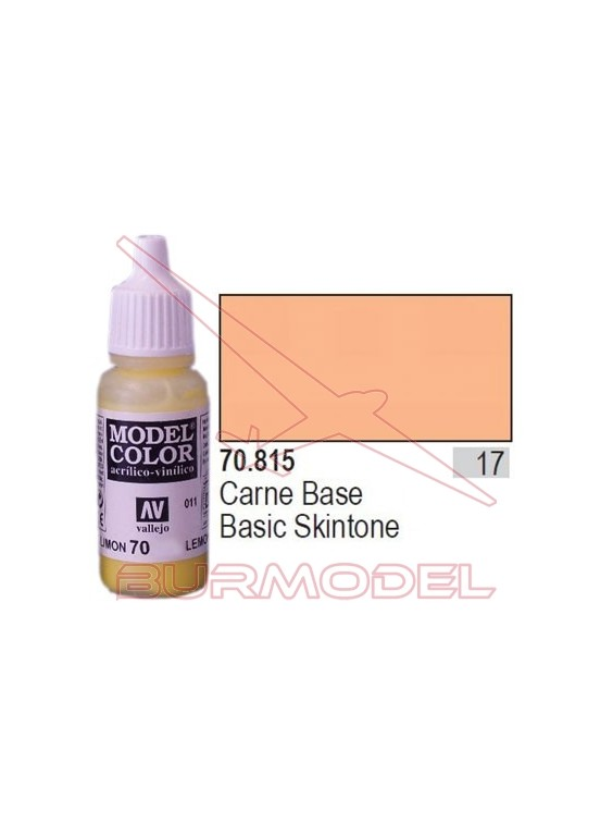 Pintura carne base 815 Model Color (017)