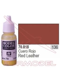 Pintura Cuero rojo 818 Model Color (136)