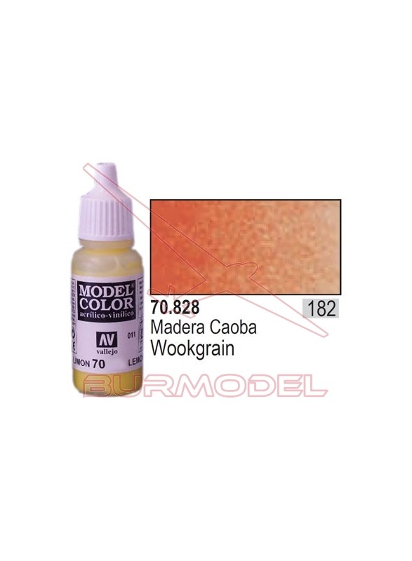 Pintura Madera caoba transp. 828 Model Color (182)