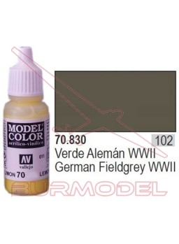 Pintura Verde alemán WWII 830 Model Color (102)