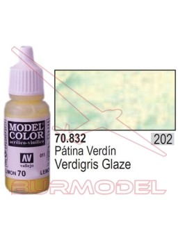 Pintura Patina verdín 832 Model Color (202)