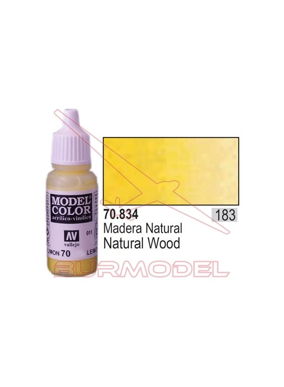 Pintura Madera natural 834 Model Color (183)