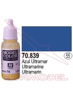 Pintura Azul ultramar 839 Model Color (055)