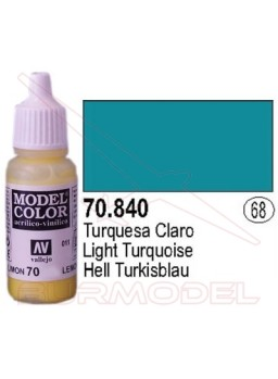 Pintura Turquesa claro 840 Model Color (068)
