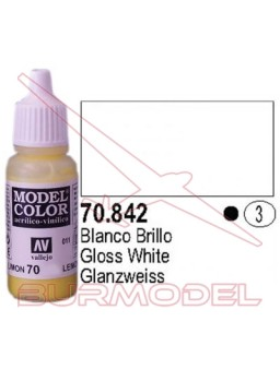 Pintura Blanco brillante 842 Model Color ( 003)