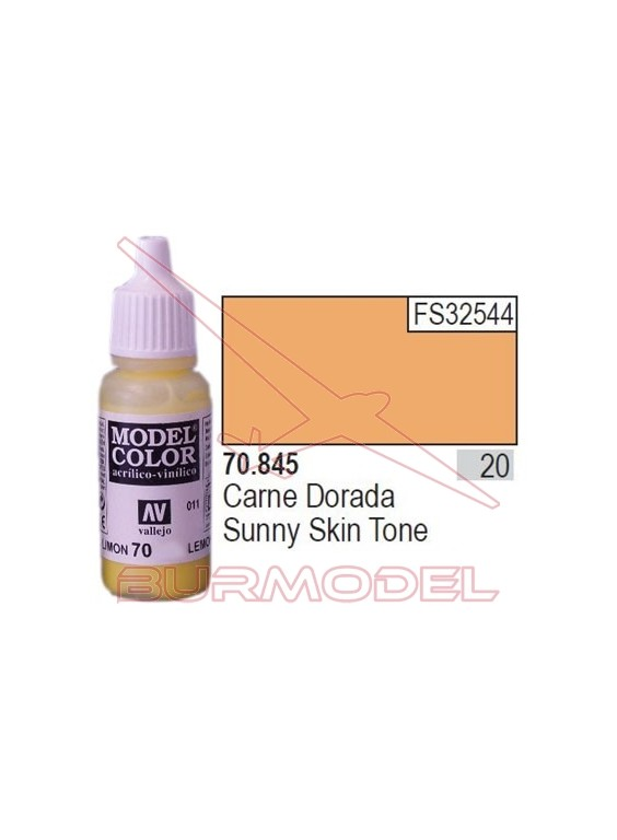 Pintura Carne dorada 845 Model Color (020)