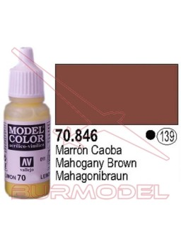 Pintura Marrón caoba 846 Model Color (139)