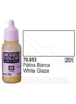 Pintura Patina blanca 853 Model Color (201)