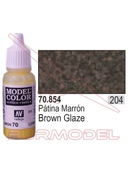 Pintura Patina marrón 854 Model Color (204)