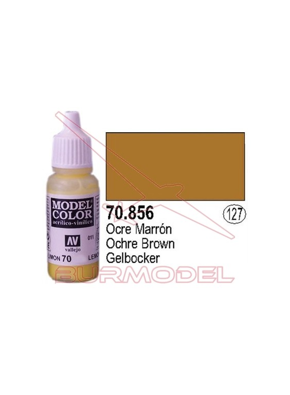Pintura Ocre marrón 856 Model Color (127)