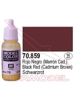 Pintura Rojo negro 859 Model Color (035)