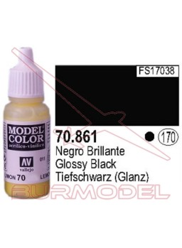 Pintura Negro brillante 861 Model Color (170)