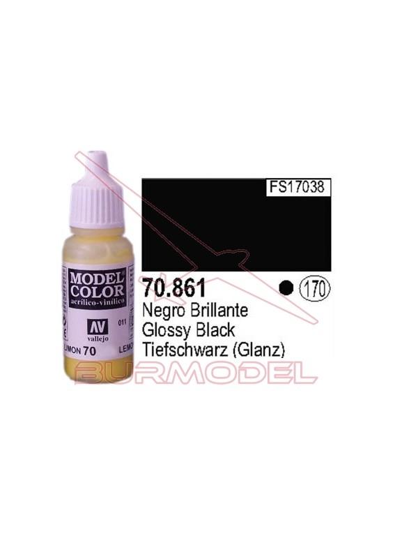 Pintura Negro brillante 861 Model Color (170)
