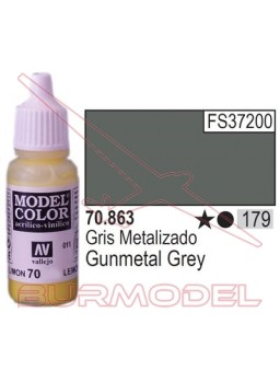 Pintura Gris metalizado 863 Model Color (179)
