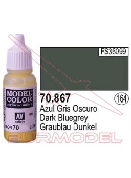 Pintura Azul gris oscuro 867 Model Color (164)