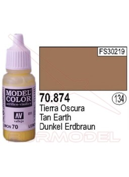 Pintura Tierra oscura 874 Model Color (134)