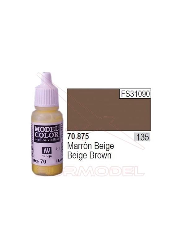 Pintura Marrón beige 875 Model Color (135)