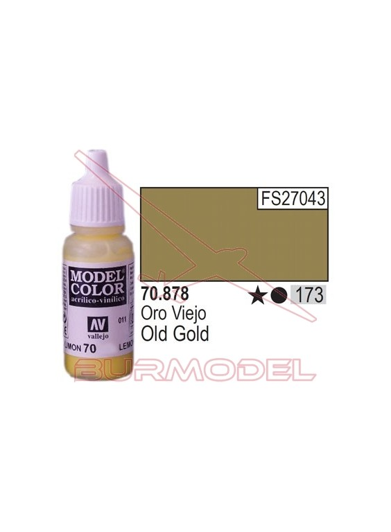 Pintura Oro viejo 878 Model Color (173)