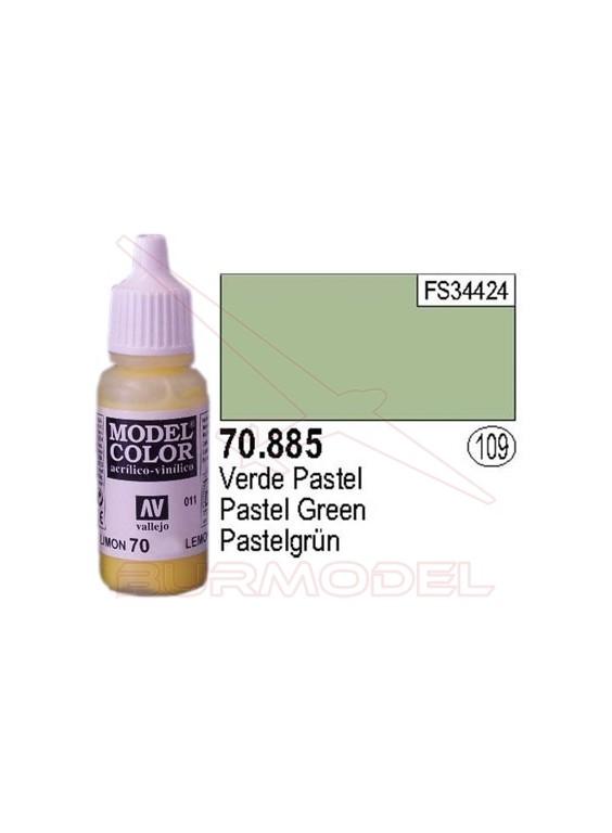 Pintura Verde pastel 885 Model Color (109)