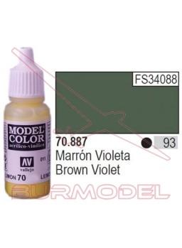 Pintura marrón violeta 887 Model Color (093)