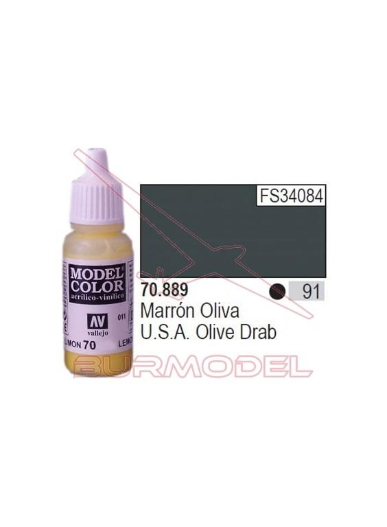 Pintura Marrón oliva 889 Model Color (091)