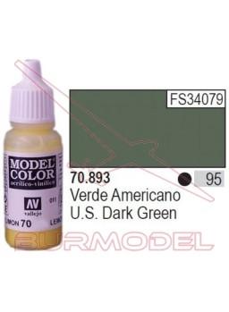 Pintura Verde americano 893 Model Color (095)