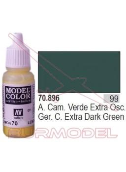 Pintura Verde extra oscura 896 Model Color (099)