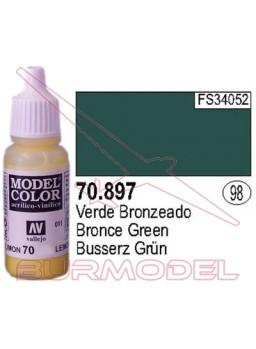 Pintura Verde bronceado 897 Model Color (098)