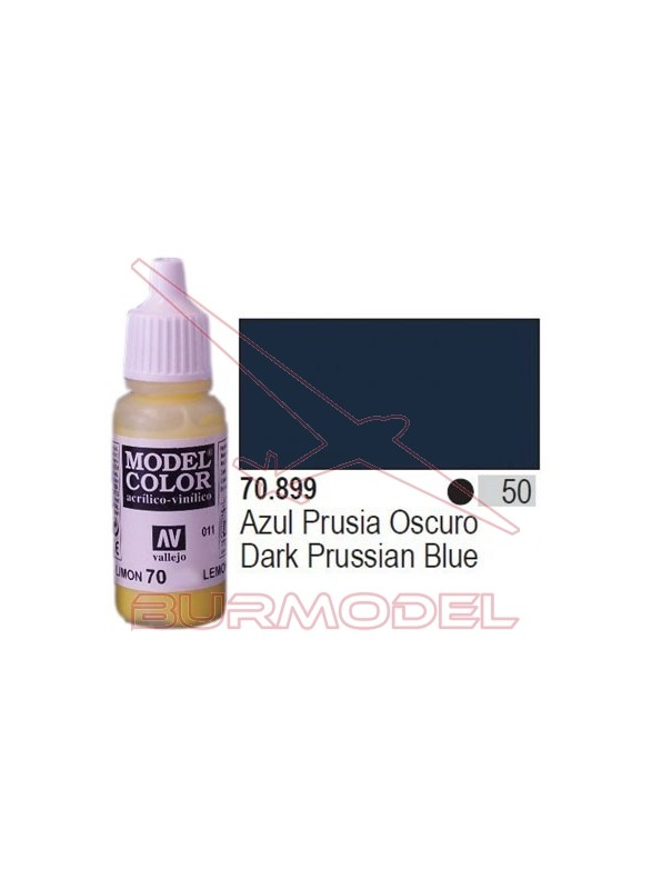 Pintura Azul prusia oscura 899 Model Color (050)