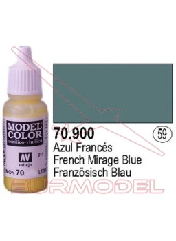 Pintura Azul francés 900 Model Color (059)