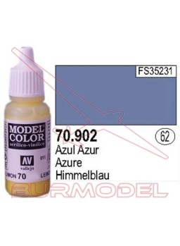 Pintura Azul azur 902 Model Color (062)
