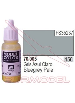Pintura Gris azul claro 905 Model Color (156)