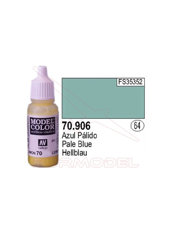 Pintura Azul pálido 906 Model Color (064)
