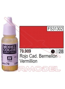 Pintura Rojo cadm. claro 910 Model Color (027)