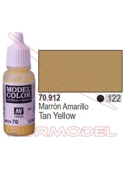 Pintura Marrón amarillo 912 Model Color (122)