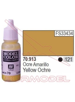 Pintura Ocre amarillo 913 Model Color (121)