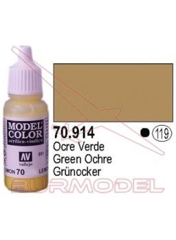 Pintura Ocre verde 914 Model Color (119)