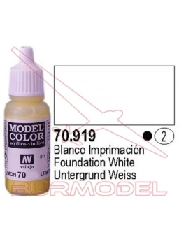 Pintura Blanco frío 919 Model Color (002)