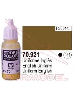 Pintura Uniforme inglés 921 Model Color (141)