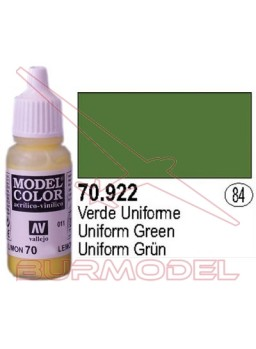 Pintura Verde uniforme 922 Model Color (084)