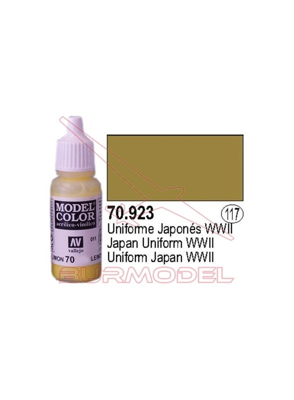 Pintura Uniforme japonés 923 Model Color (117)