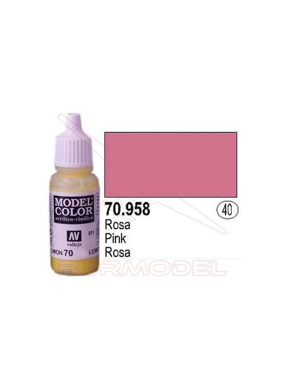 Pintura Rosa 958 Model Color (040)